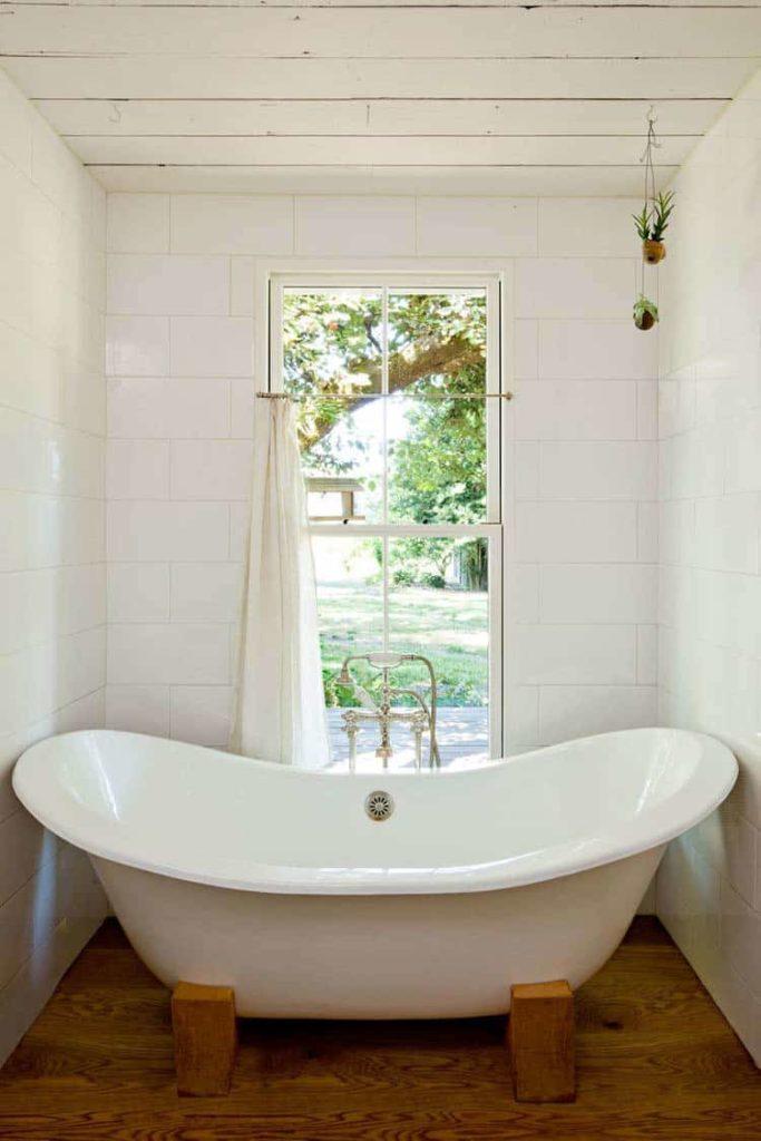 Sauvie Island salle de bain baignoire
