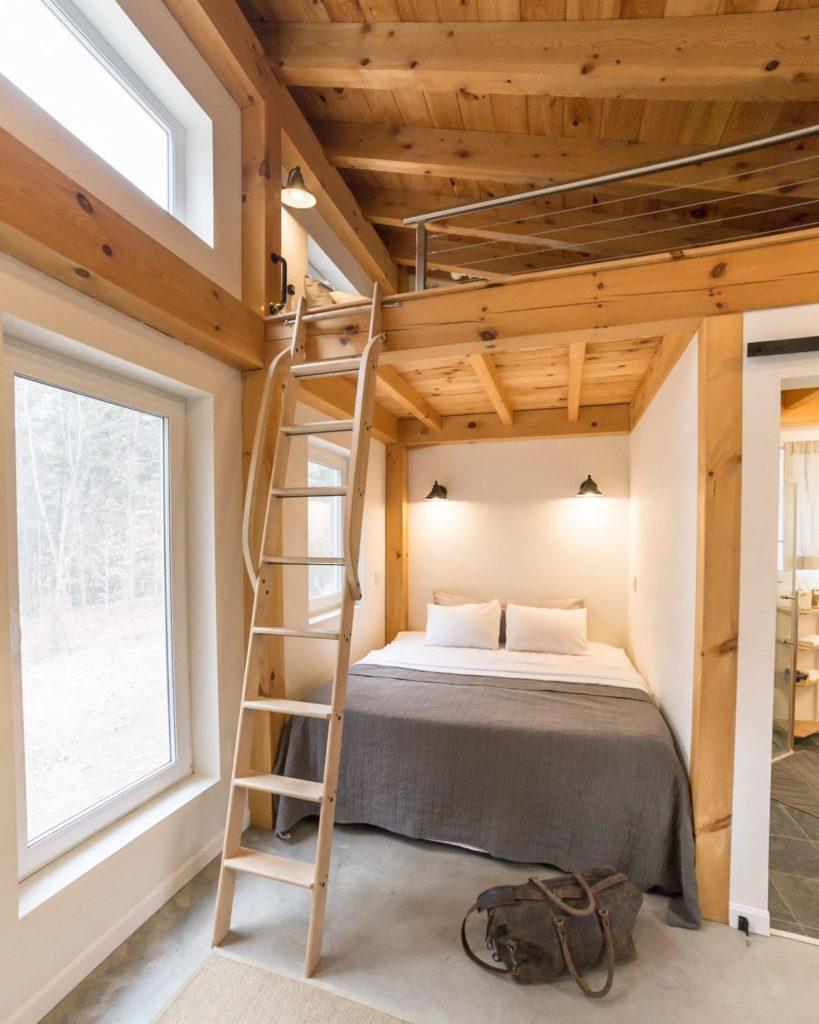 Honeycrisp Cottage chambre rez de chaussee