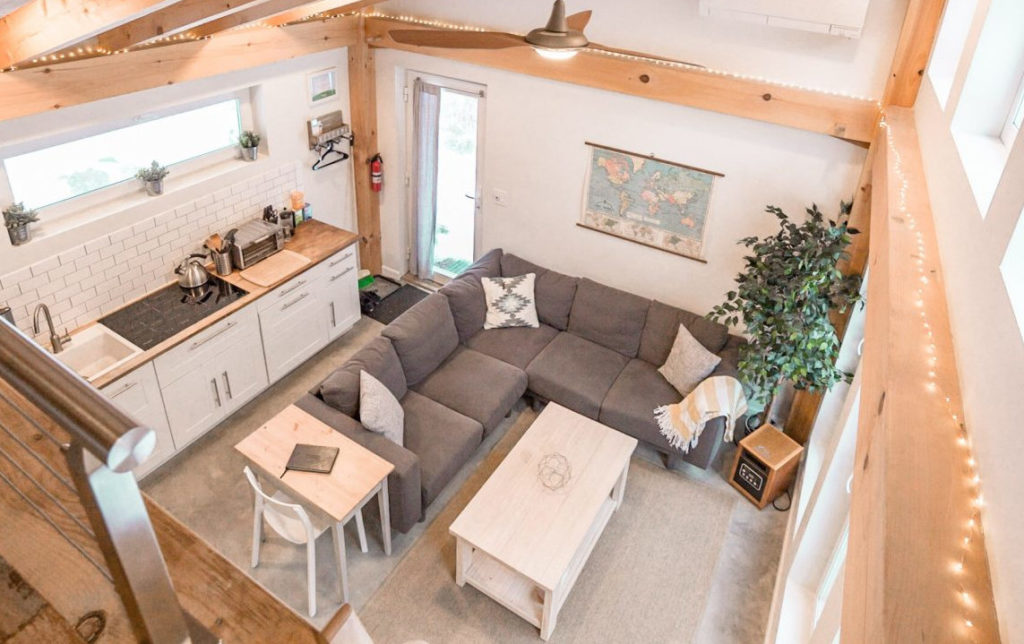 Honeycrisp Cottage vue de la mezzanine