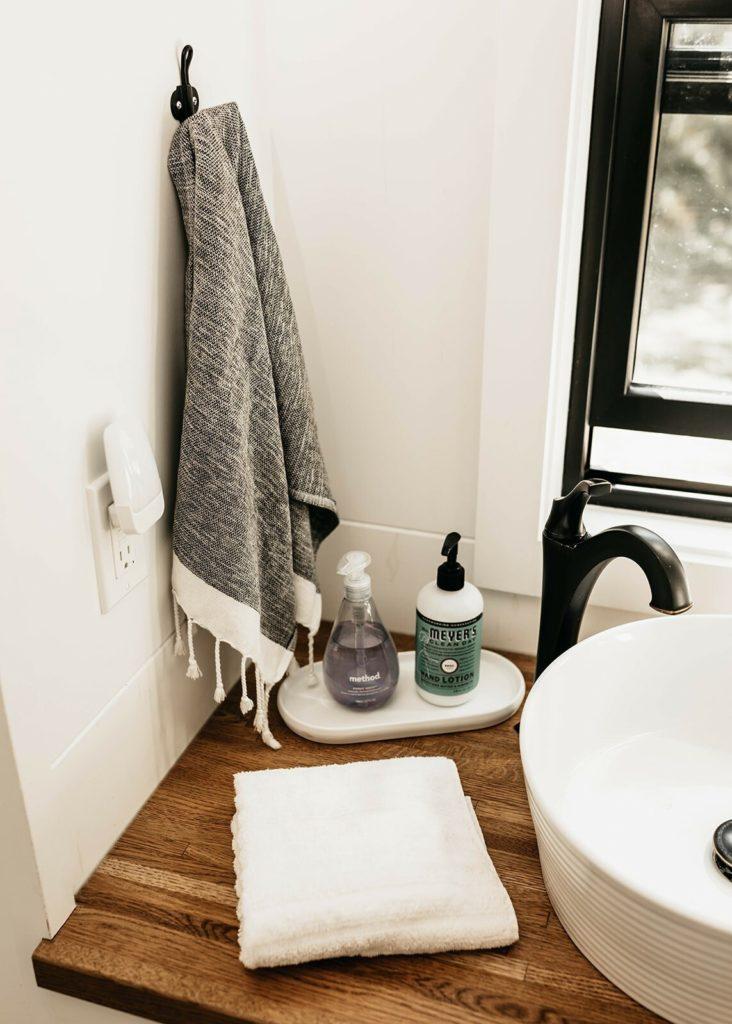 salle de bain mini maison sur roues location
