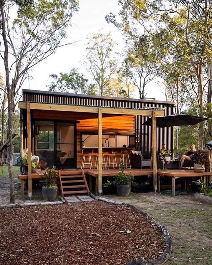 Cette tiny house familiale a un intérieur magnifique