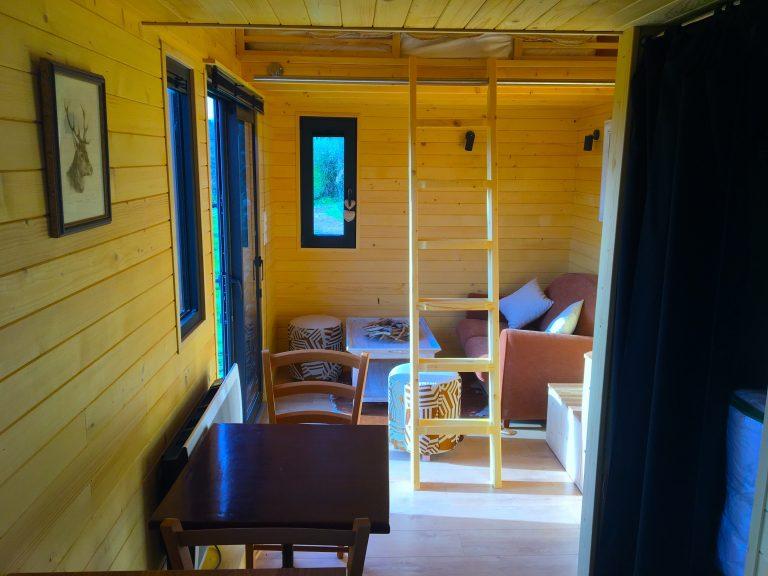 AgriVillage tiny house salon