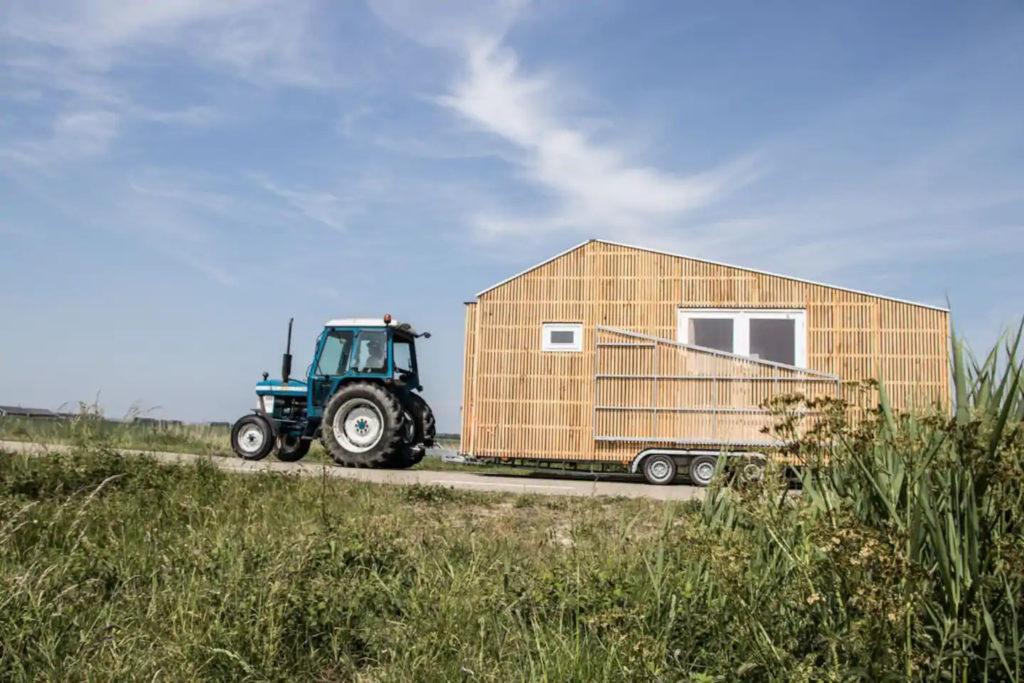 Transport déplacement tiny house écologique et autonome