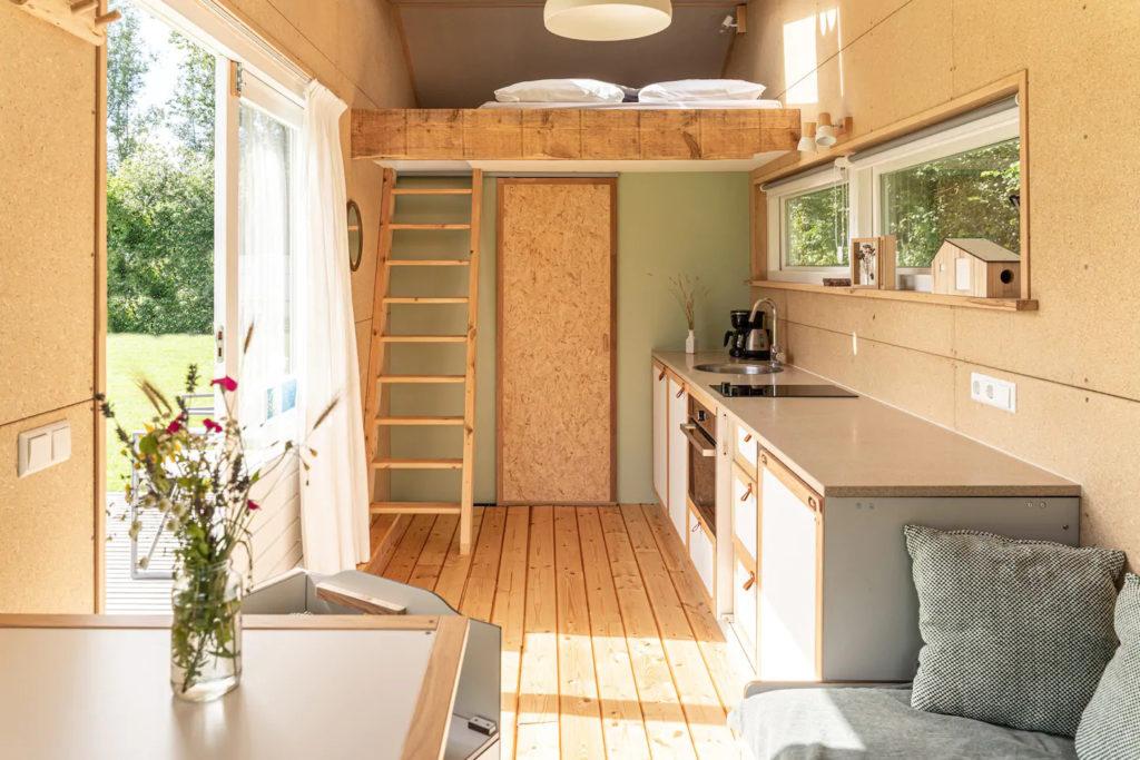 Cuisine tiny house écologique et autonome