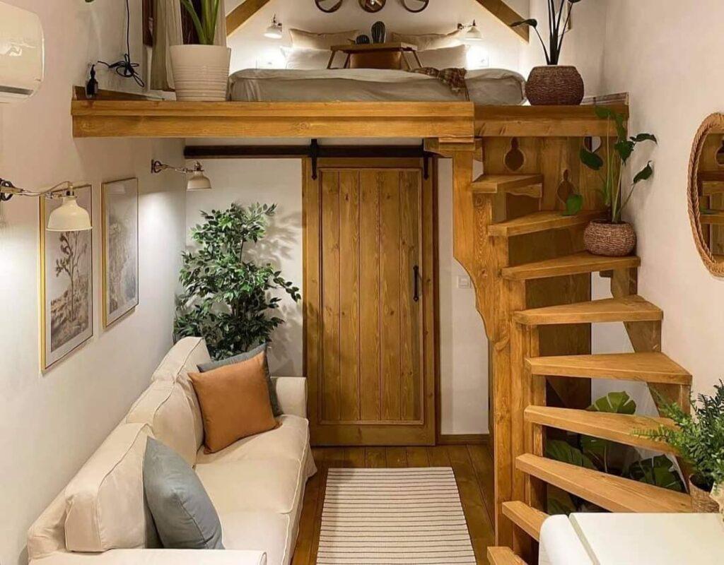 escalier tiny box house